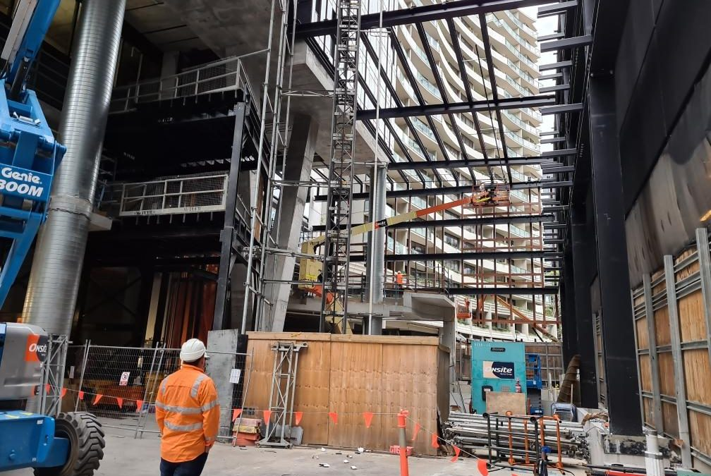 FIRE PROOFING APPLICATION Yarra One South Yarra